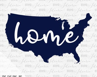 Home America Svg, fireworks svg, 4th of July Svg, Patriotic Svg, Summer Svg, fourth of july svg, independence day, Silhouette, Cricut