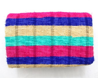 Handmade Hand woven Chindi Area Rugs Rectangular Carpet Durrie Recycled Bohemian Beach Garden Yoga Mat Indian Floor Kilim Counterpane I623