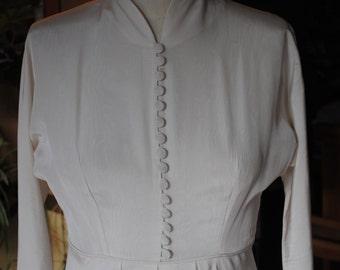 Wedding dress 1940s