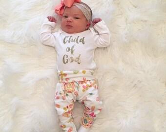 Baby girl floral leggings. Leopard leggings. Floral leggings!