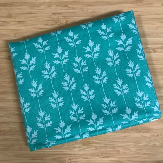 Furoshiki Gift Wrapping Cloth - Japanese Cotton Furoshiki - Turquoise Forest Design by Kendo Girl