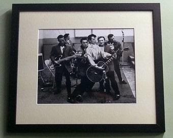 Gene Vincent framed 8' x 10' photo