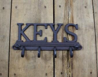 Cast Iron Key Hook