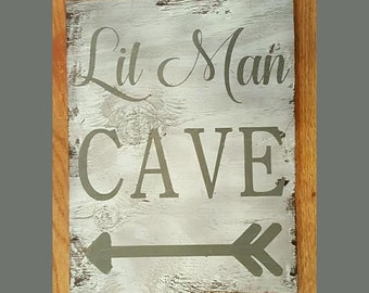 Lil man cave