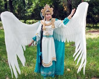 fairy tale Swan Princess cosplay costume CUSTOM MADE