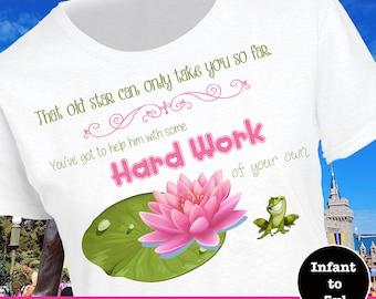 Disney Lesson Shirt, Princess And The Frog Shirt, Prince Naveen Shirt, Princess Tiana Shirt