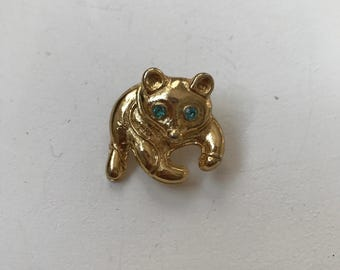 Cute vintage animal brooch
