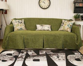 Sofa slipcover Etsy