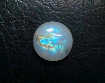 Rainbow Moonstone 15 MM Cabochon