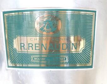 R.Renaudin Champagne Ice Bucket