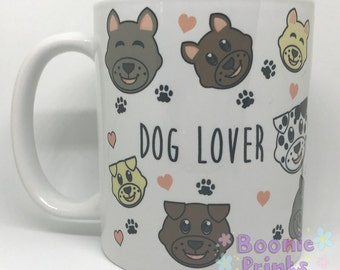 Dog Lover 11oz Ceramic Mug