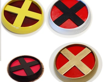 Marvel X-Men Belt Buckle Badge - Any Color, Any Size! Badge Broach