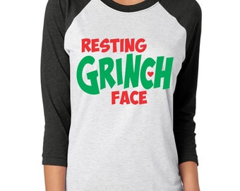 """Shop """"resting grinch face"""" in Women's Clothing"""