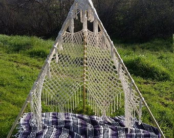 Macrame Teepee (for rent only)