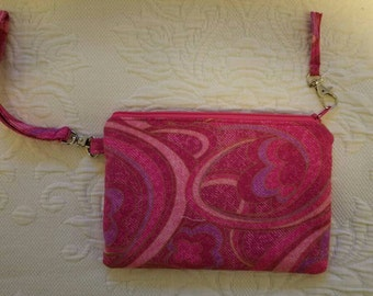Wristlet Purse, Holds Credit Cards and Phone