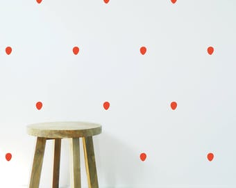 BALLOONS Pattern WALL STICKER, Removable Decal, Made in Australia
