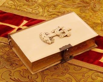 """Ivory Missal """"Le Trésor du Fidèle""""  1849"""