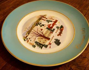 Avon 1973 Christmas Plate
