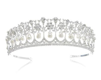 Princess Diana Inspired Bridal Tiara