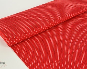 Cotton Judith - red dotted points -