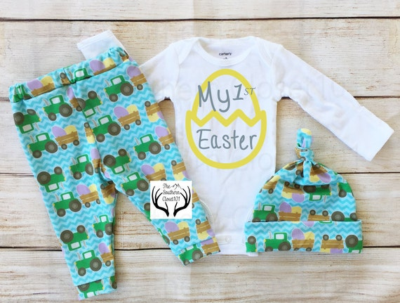 Find great deals on eBay for baby boys easter outfit. Shop with confidence. Skip to main content. eBay: Infant Boys First Easter Bodysuit Baby Outfit Gray Bunny Rabbit Creeper m See more like this. Infant Boys Easter Bunny Baby Outfit Somebunny to Love Bodysuit & Pants. Brand New.