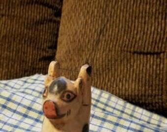 Parachuting pig