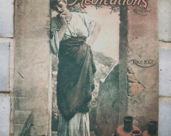 Vintage 1907 Sheet Music – Sweet Meditations Reverie by Ray Kay – Very Rare
