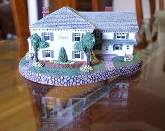 Rhodes Studios Norman Rockwell's Main Street 'Rockwell's Residence' Limited Edition Sculpture 1990