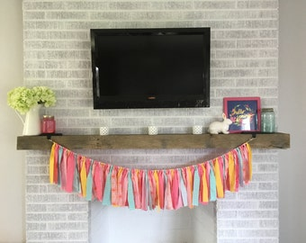 4.5 foot Spring Fabric Garland