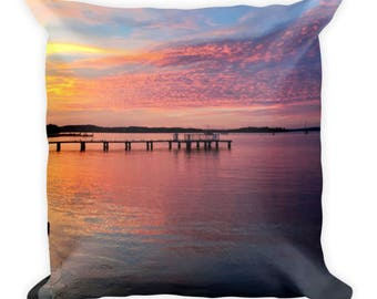 Cotton Candy Skies Pillow