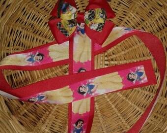 Snow White hair bow holder