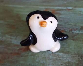 Little Guys Ceramic Penguin Figurine