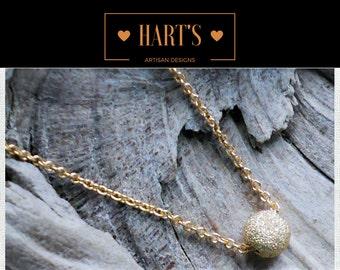 Minimalist 14K Gold Necklace