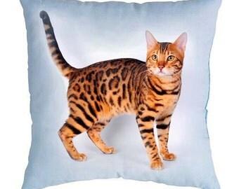 Custom pet portrait Decorative pillow Personalized Dog Pillow Custom Cat Pillow