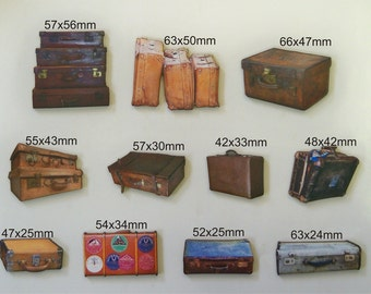 11 X Travelling Bags (Suitcsases)