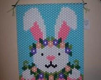Happy Bunny Spring banner