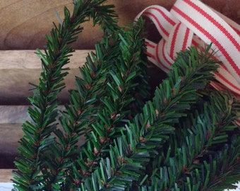 Wired Pine Garland Rope 25 ft