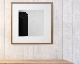 black and white giclee print photography fine art print minimal black hand, art composition photo print dark art bodypainting art body art