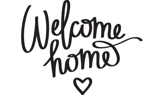 Hilaire image regarding printable welcome home sign