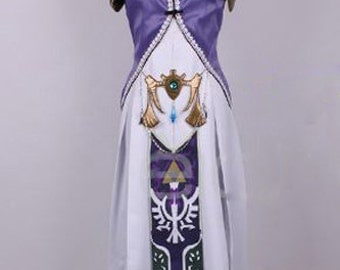 Legend of Zelda Princess Dress Zelda Cosplay Costumes