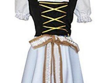 Axis Powers Hetalia Liechtenstein Nora Dress Anime Cosplay Costumes