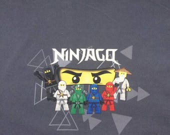 Ninjago French Terry Knit Fabric Panel