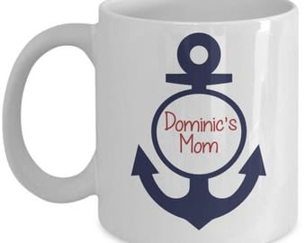 Mother's Day Gift - Personalized Mom Anchor Mug - Mother's Day Mug