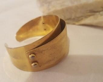 ON SALE, Vintage Cuff Bracelet, Vintage EMMONS, Gold Bracelet, Gold Jewelry, Vintage Jewelry, Gold Emmons, Emmons Jewelry, Bangle Bracelet