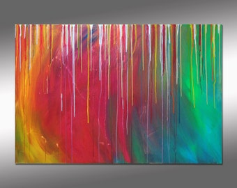 "SC-Art - abstract & modern / acrylic painting / 31""x47"""