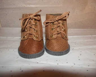 """18"""" doll shoes Hiking boots"""