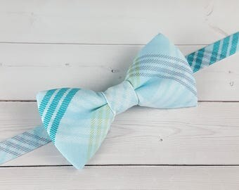 Baby Bow Tie, Toddler Bow Tie, Mens Bow Tie, Bow Tie, Blue Bow Tie, Suit Tie, Boy Bow Tie, Wedding Bow Tie, Bowtie, Ring Bearer, Plaid