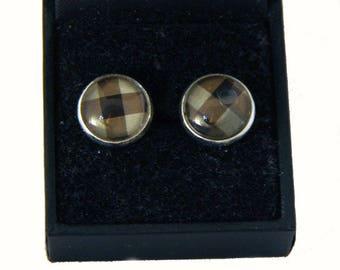 earrings cabochons kart Ohrringe