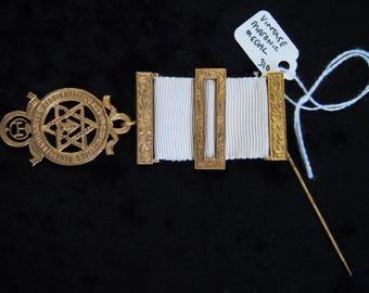 Vintage Masonic Medal