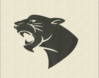 Moks89 Panther Machine Embroidery Design in formats: jef, dst, hus, pes, exp, vp3, vip, xxx.